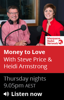 Heidi Armstrong and Steve Price on 2GB